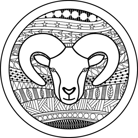 50368391 - zodiac sign aries
