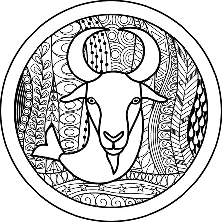 50368393 - zodiac sign capricorn