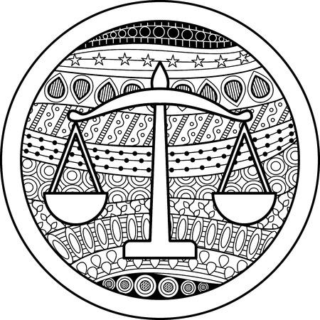 50368394 - zodiac sign libra