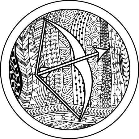 50368397 - zodiac sign sagittarius