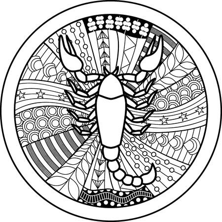 50368398 - zodiac sign scorpio