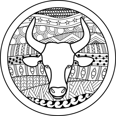 50368399 - zodiac sign taurus