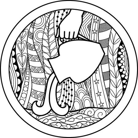 50368401 - zodiac sign aquarius