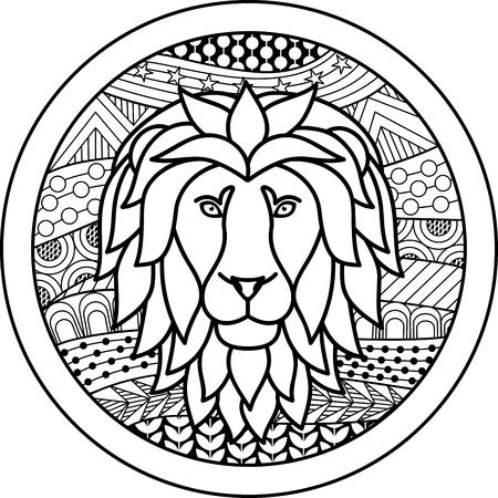 50368402 - zodiac sign leo